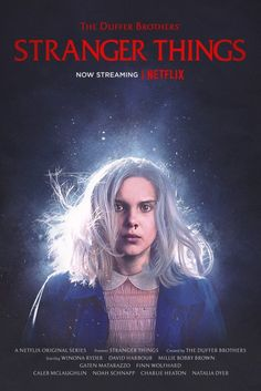 """'Stranger Things' pays homage to 'Firestarter' in Season 2 poster. A new poster for """"Stranger Things"""" Season 2 featuring Millie Bobby Brown's Eleven pays homage to 1984 horror film """"Firestarter. Stranger Things Netflix, Stranger Things Saison 1, Stranger Things Funny, Eleven Stranger Things, Stranger Things Theories, Classic 80s Movies, Iconic Movies, Art Movies, Drew Barrymore"""