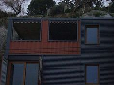 Amazing House Built from Shipping Containers