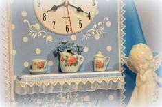 Декор предметов Декупаж Нежности дачности и крошечный МК Бумага Клей Краска Кружево Ленты Салфетки фото 10