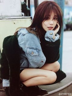 Eunji is absolutely stunning ❤❤ #bias
