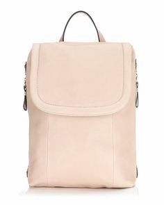 JIGSAW Pepworth Suede Lined Rucksack: Timeless and versatile rucksack in supple, textured leather. Detachable, adjustable leather shoulder straps, side zip compartments, purse pocket and magnetic flap closure.
