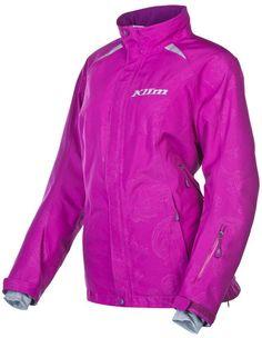 Klim Women/'s GORE-TEX® WATERPROOF Pink CASCADE Snowmobile Pullover Jacket