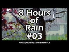 Rain sounds for sleep, relaxation, meditation, studying, yoga. 8 hours of long sleep sounds. The best sound of rain without music. Please like, subscribe and comment if you enjoyed this video. It will really help me out a lot. :) http://www.youtube.com/subscription_center?add_user=8hoursof