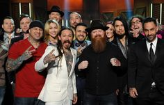 Dave Navarro and most of cast of Season 5 of Ink Master