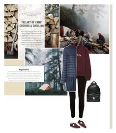 """""""""""What i want is for the two of us to meet somewhere by chance one day, like, passing on the street, or getting on the same bus."""" -Haruki Murakami, 1Q84"""" by are-you-with-me ❤ liked on Polyvore featuring River Island, New Balance, Moncler and Givenchy"""