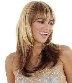 I'd like to do this, either with my natural hair color on bottom and lighter on top...or silver on top and a greyish color on bottom.      Google Image Result for http://www.celebwigs.com/product_images/uploaded_images/two-tone-hair-wigs.jpg