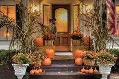 best outdoor fall decorations - Yahoo! Image Search Results