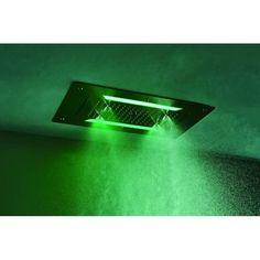 """XXL-Regendusche Edelstahl-Deckenbrause DPG5030 - 70 x 38 cm - DeckeneinbauProduktvorteileEdles DesignAus hochwertigem EdelstahlErstklassige VerarbeitungSuperflach, sofortiger WasserstoppMit 4 Funktionen (Regendusche, Wasserfall, Blasenregen (bubble rain) & Sprüh-Nebelfunktion)Ausgestattet mit LED-BeleuchtungInkl. Funkfernbedienung mit 15 FarbwechselprogrammeDIN-Anschlüsse, 1/2""""Einfache Montage mehr Details...XXL-Regendusche Edelstahl-Deckenbrause DPG5030 - 70 x 38 cm - DeckeneinbauDie edle…"""