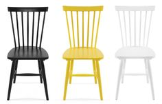 Spoke chairs and yellow Stool, Chair, Dining Area, Inspiration, Furniture, Lifestyle, Yellow, Decoration, Home Decor