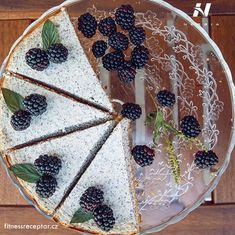 Makový koláč z ricotty a tvarohu