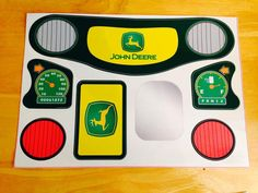 John Deere Print Cozy Coupe Compatible Decals by nursingundercover, $14.95
