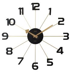 Acctim This Astraea Wall Clock is a stylish spoke wall clock, diameter. The hands and spokes are metal as well as the black hub. London Clock, Clocks, Radios, Pendulum Wall Clock, Wall Clock Online, Copper Wall, Color Dorado, Black Kitchens, Shopping
