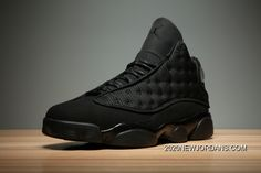 """Top Deals Air Jordan 13 """"Black Cat"""" Black/Anthracite-Black Men's And Women's Size Air Jordan Sneakers, Nike Air Jordans, Nike Sneakers, Jordan Basketball Shoes, Jordan Nike, Best Shoe Stores, Jordan 13 Black, Michael Jordan Shoes, Shopping"""