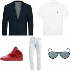 Dezelfde stijl met een kleiner budget. Blazer #jackandjones | Polo #LACOSTE | Sneakers #Djinn's | Jeans #Sisley | Zonnebril #Armani | All from Zalando