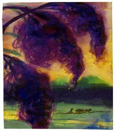 Emil Nolde - Celosienblüten, c.1925-30
