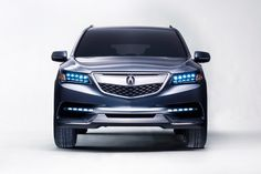 Awesome Acura 2017: Acura 2014 MDX Prototype... Check more at http://cars24.top/2017/acura-2017-acura-2014-mdx-prototype/
