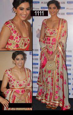 Buy Online Beautiful Sonam kapoor Bollywood Replica Salwar Suit