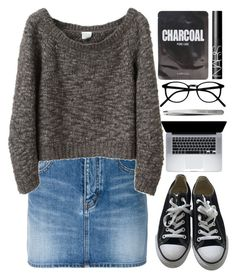 """""""I'm back!!! Rtd!"""" by kind-at-heart ❤ liked on Polyvore featuring Yves Saint Laurent, VPL, Lapcos, Converse, NARS Cosmetics and Bobbi Brown Cosmetics"""