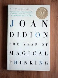 The Year Of Magical Thinking by Joan Didion // This book is changing my life right now.