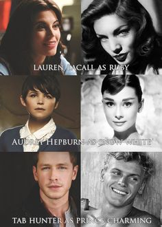 OUAT Classic Hollywood Dream Cast. I'm starting to think this Hollywood cast would be waaaaaaaaaay better