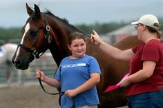 Show time for kids and horses at the Lancaster County Fair