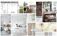 Heute gibt´s Küche Nr.2, Moodboard, Weiß, hell, Küche, Holzboden, Vision, Idee, Gefühl