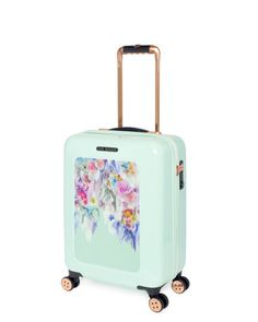 Sugar sweet floral cabin suitcase - Pale Green | Bags | Ted Baker UK