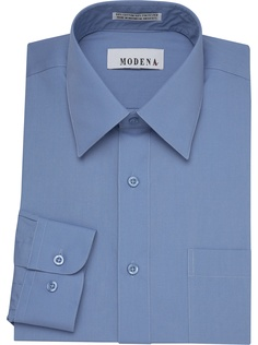 Dress Shirts - Modena Blue Dress Shirt - Men's Wearhouse