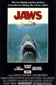 (24x36) Jaws Movie (Shark in Water) Poster Print --- http://www.amazon.com/24x36-Movie-Shark-Water-Poster/dp/B000WQZK5C/?tag=topsecdatt0a2-20