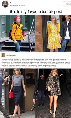 """""""Do you ever think about the fact that the age 22 had virtually no significance or cause for excitement until Taylor Swift wrote a song about it."""" Taylor Swift, Style, Role Models, Fashion, Swag, Moda, Fasion, Outfits"""