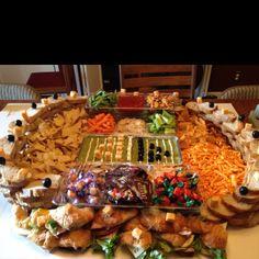 super bowl party decorations super bowl stadium snacks superbowl party ideas - Super Bowl Party Decorations