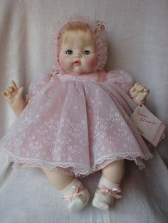 madame alexander baby doll, kitten