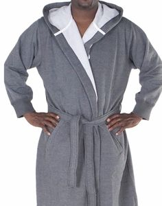 Alexander Del Rossa Robe- Sweatshirt (Hoodie) Style-3X 4X Dark Heather Gray   fashion  clothing  shoes  accessories  mensclothing  sleepwearrobes (ebay  link) f7d8d56e9
