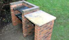 How to Build a Brick Barbeque     http://diyhomesweethome.com/how-to-build-a-brick-barbeque/