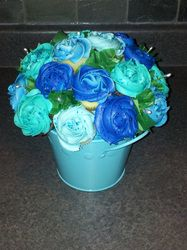 Cupcake Bouquet Create By Blossmmms-Specialty Cupcake Bouquets