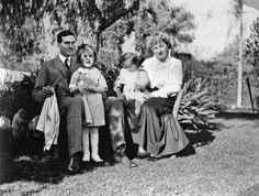 Young Julia:  The McWilliams Family, Pasadena, 1922