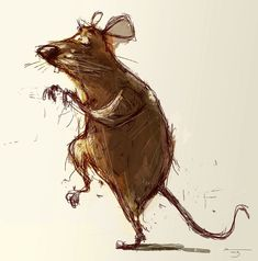 Dainius Šukys Artist Watercolor Art, Animal Art, Animal Drawings, Drawings, Animal Sketches, Cartoon Sketches, Whimsical Art, Art, Interesting Art