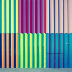 Nick Frank's #Urban Exploration of Mira #photography #architecture #modern #color