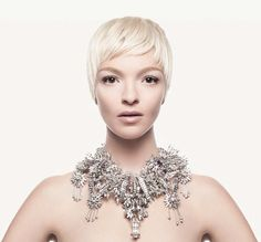 "Mariacarla Boscono for Givenchy Fall 2013 ""Teint Couture Collection"""