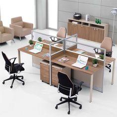 Black 1 Pair 8H T-Leg Bracket for Office Partition Panels