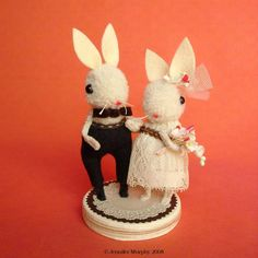 Ruffled® | Adorable Woodland Creature Whimsical Cake Toppers by Jennifer Murphy