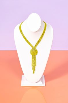 Neon Fringe Necklace. coming to me soon <3