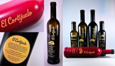 Vitriglass ha realizado los trabajos de recubrimiento y serigrafía en vidrio para la familia de aceites El Cortijuelo. www.vitriglass.es