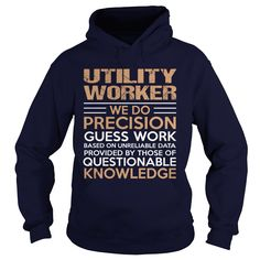 UTILITY WORKER T-Shirts, Hoodies. Get It Now ==►…