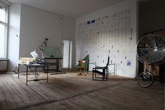 The Work Floor in The Apartment, Berlin