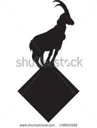 Image result for abstract mountain goat tattoo