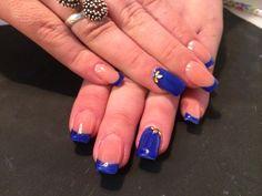 Blue nails - http://www.unghiifalseafi.ro