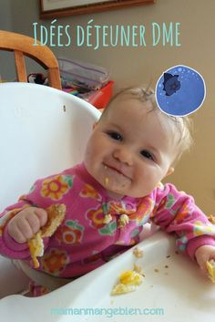 Facebook Pinterest Gmail Votre bébé vient de débuter l'introduction des solides par la diversification menée par l'enfant (DME) et mange déjà une belle variété d'aliments? Les parents se demandent souvent quoi offrir à tel ou tel repas alors explorons un peu les options possibles au déjeuner (ou petit déjeuner car j'ai de plus en plus …