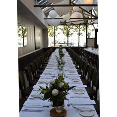 Loving this set-up for Allessandro's #christening with us earlier this year! #Sunday lunch in the #standrewsconservatory is #elegant and #classic | For the full post visit our gallery at www.standrewsconservatory.com.au xx