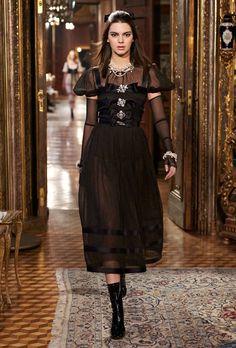 Kendall Jenner and Cara Delevingne Were Chanel Brides in Salzburg - Fashionista